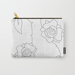 Rose Bush Carry-All Pouch