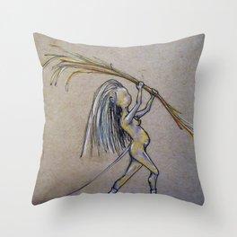 Builder Throw Pillow