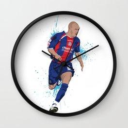 Andy Johnson - Crystal Palace FC Wall Clock