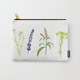 Tea Flowers Carry-All Pouch