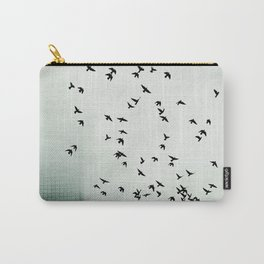 Fog and Feathers Carry-All Pouch