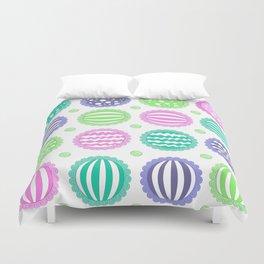 Sugar Treats Pattern Print Duvet Cover