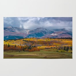 Fall in the Rockies Rug