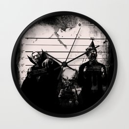 Party crashers Wall Clock