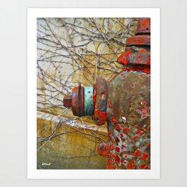 Hydrant No.2 Art Print