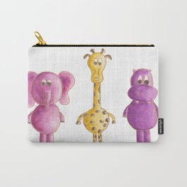 Colourful animals Carry-All Pouch