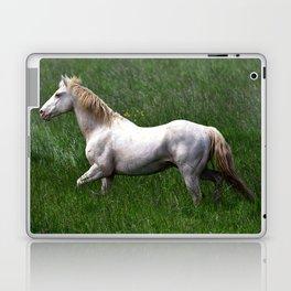 BEAUTIFUL WHITE HORSE Laptop & iPad Skin