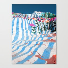 salvation mountain1 Canvas Print