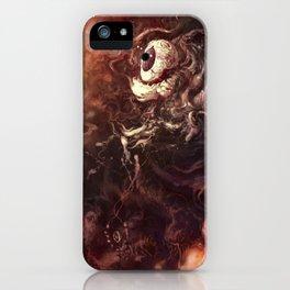 Star Eater Dark iPhone Case