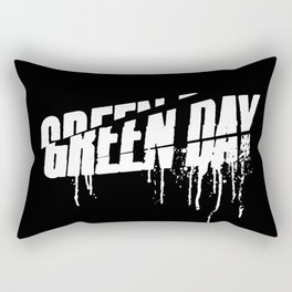ROCK ART #band logo #Gday #WHITE Rectangular Pillow