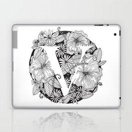 Flower V Laptop & iPad Skin