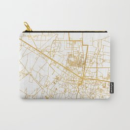 SIEM REAP CAMBODIA CITY STREET MAP ART Carry-All Pouch