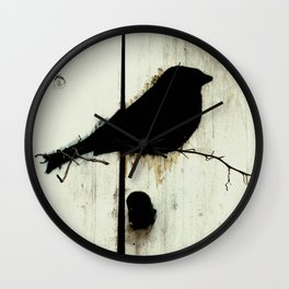 Early Bird - JUSTART © Wall Clock