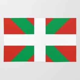 Basque Country: Euskaldun Flag Rug