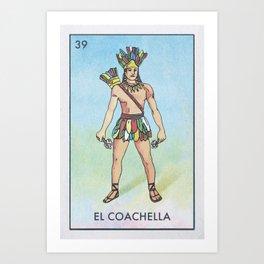 El Coachello Art Print