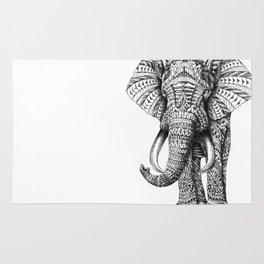 Ornate Elephant Rug