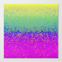 Glitter Star Dust G289 Canvas Print