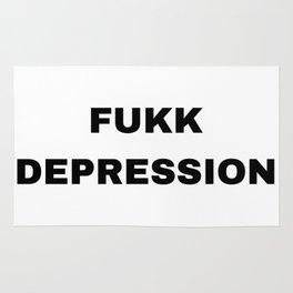 Fukk depression Rug