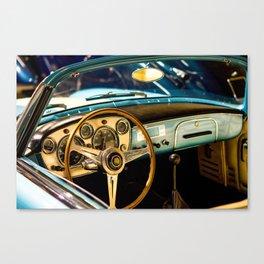 Car interior Canvas Print