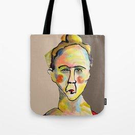 Colorful Woman Tote Bag