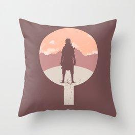 Crest of Revenge [Naruto] Throw Pillow