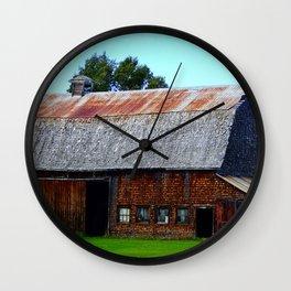 Vintage Acadian Barn Wall Clock