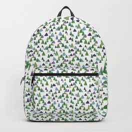Abstract Watercolor Forest Backpack