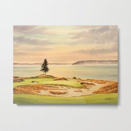 Chambers Bay Golf Course 15th Hole Metal Print