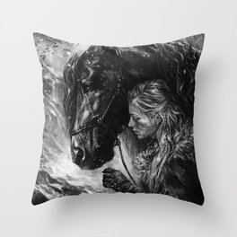 Will you trust me? Throw Pillow
