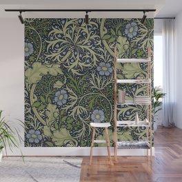 William Morris Seaweed Pattern Wall Mural
