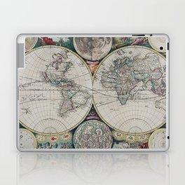Atlas Maritimus - Vintage World Map Laptop & iPad Skin