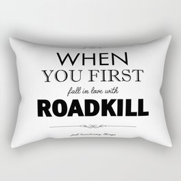 Just Taxidermy Things: Roadkill Rectangular Pillow