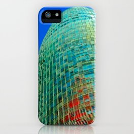 Torre Agbar iPhone Case