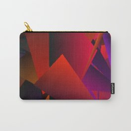 Smoke Screen Abstract 5 Carry-All Pouch