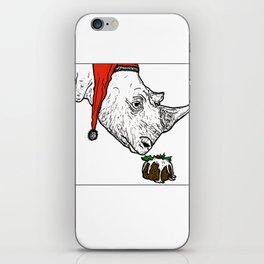 Christmas Rhino iPhone Skin