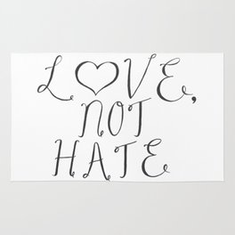 Love, Not Hate Rug