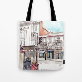 Montreal, Parc at Laurier Tote Bag