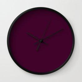 Palette .BlackBerry Wall Clock