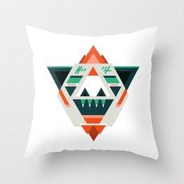Sasquatch boss Throw Pillow