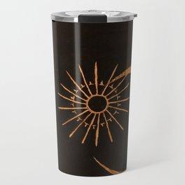 gold-m o o n Travel Mug