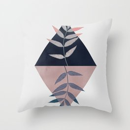 Geometry and Nature 3 Throw Pillow