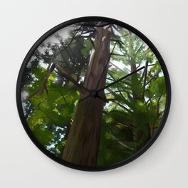 Japanese Forest Wall Clock