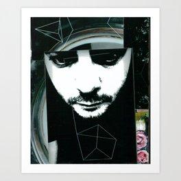 The Stare Art Print