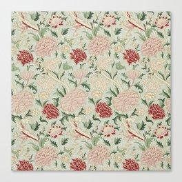 William Morris Cray Floral Pre-Raphaelite Vintage Art Nouveau Pattern Canvas Print