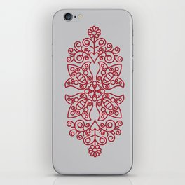 Folk Needlework iPhone Skin