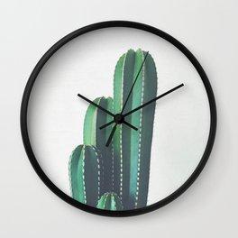 Organ Pipe Cactus Wall Clock