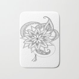 Blazon Zentangle Art Bath Mat
