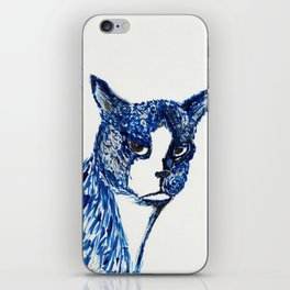 Boots in Blue iPhone Skin