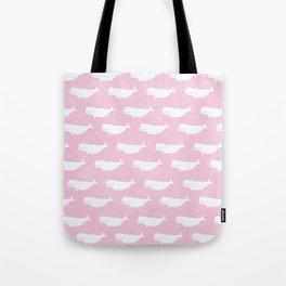 Pink Belugas Tote Bag