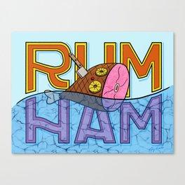 Rum Ham Canvas Print